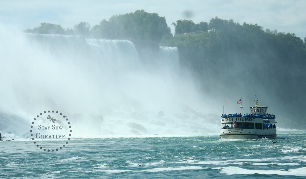 Maid of the Mist via StaySewCreative.com