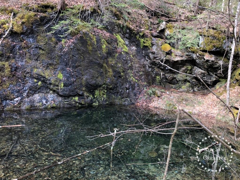 Quarry and small pond